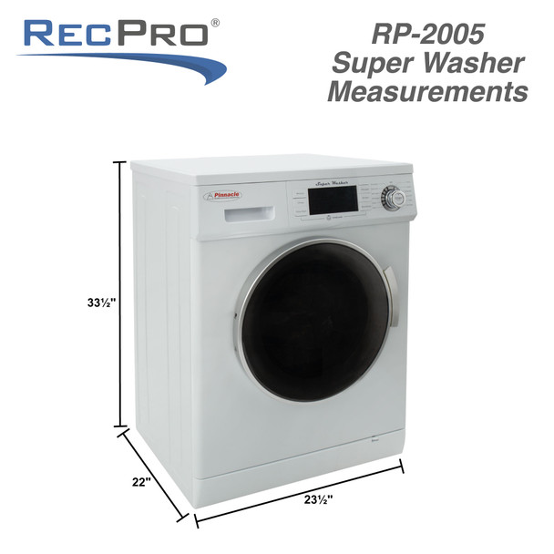 RV Washing Machine Super Washer with Automatic Water Level