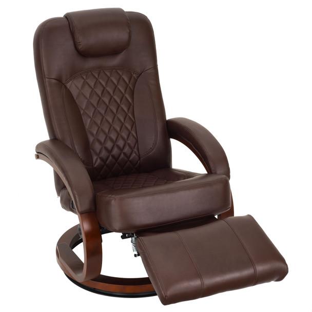 "RecPro Nash 28"" RV Euro Chair Recliner Modern RV Furniture Design"