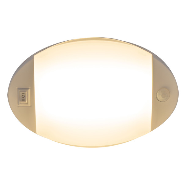 RV Motion Activated Lights Small Oval Surface Mount
