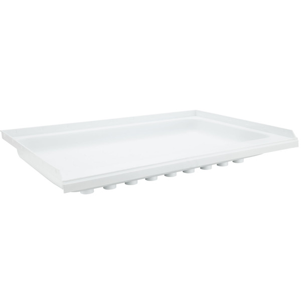 """RV Shower Pan 36"""" x 24"""" x 5"""" Right Drain in White"""