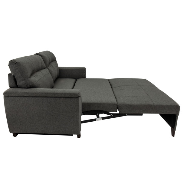 """RecPro Charles 72"""" Easy-Out Trifold Sleeper Sofa in Cloth"""