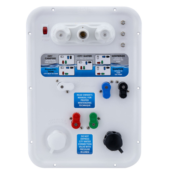 RV Multifunction Water Fill Panel Nautilus P1