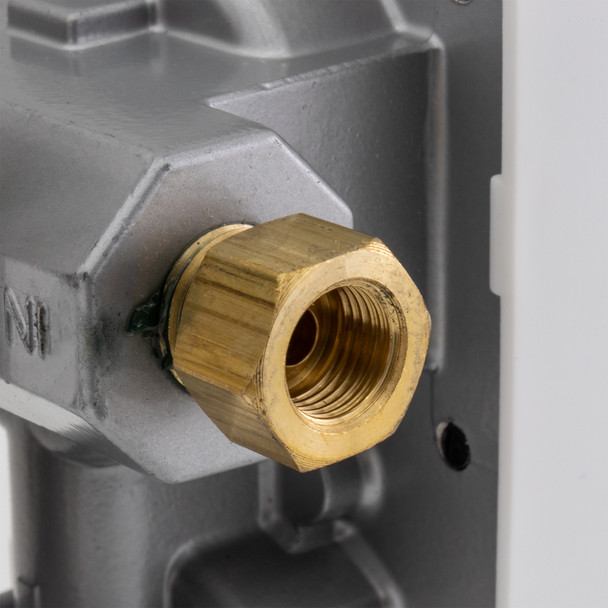 RV Propane Gas Regulator 2-Stage Changeover LP