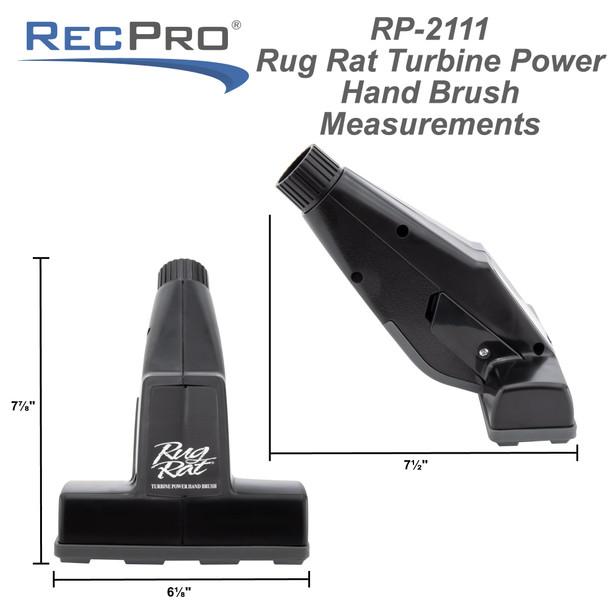 RV Vacuum Brush RugRat