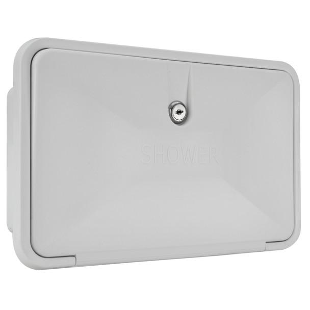 RecPro RV Exterior Shower Box Kit Faucet Hose Camper Trailer Cowboy Shower