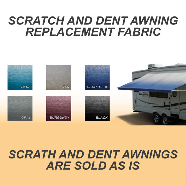 Scratch & Dent RV Awning Replacement Fabric