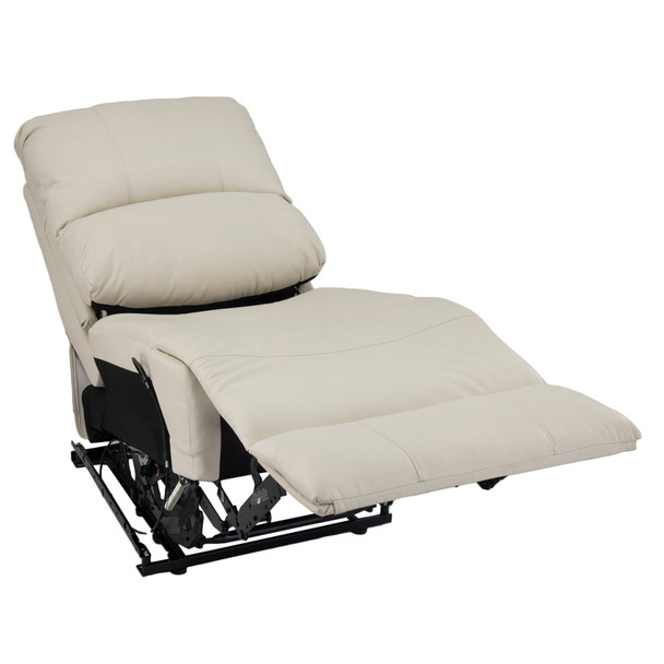 """RecPro Charles 22"""" RV Recliner and Drop Down Comfort Console w/ Cup Holders in Ultrafabrics® Brisa®"""