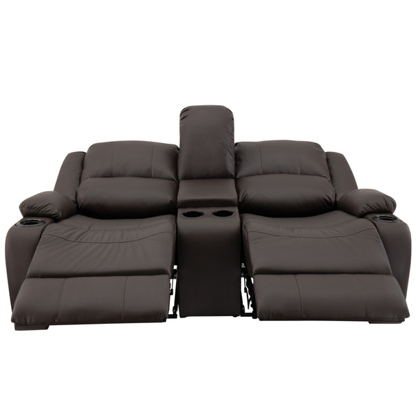 "RecPro Charles 70"" RV Wall Hugger Recliner Sofa in Ultrafabrics® Brisa®"