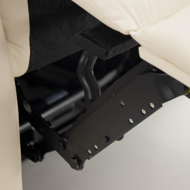 "RecPro Charles 80"" RV Wall Hugger Recliner Sofa in Ultrafabrics® Brisa®"
