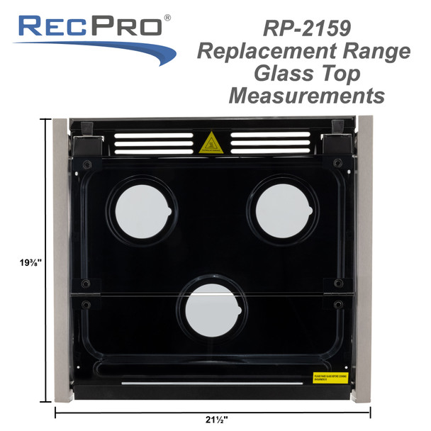 Replacement Glass Top for Stove Gas Range