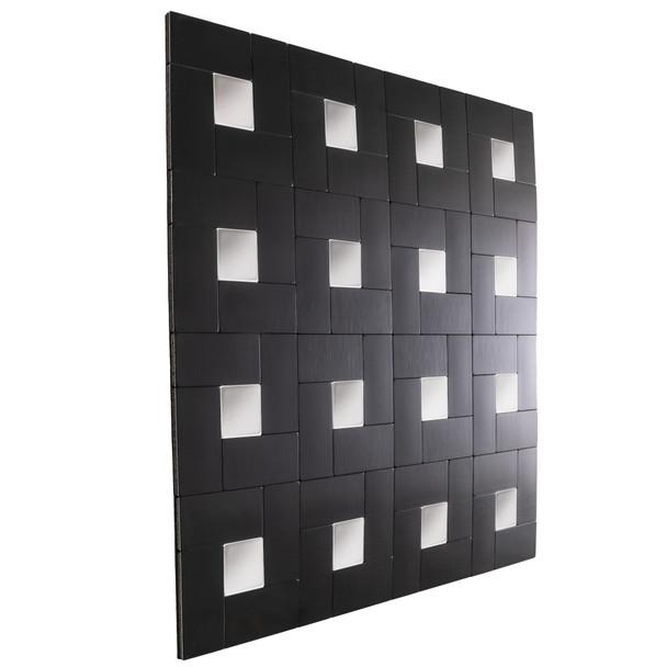 "RV Backsplash Onyx Block Tile 12"" x 12"" Peel and Stick"