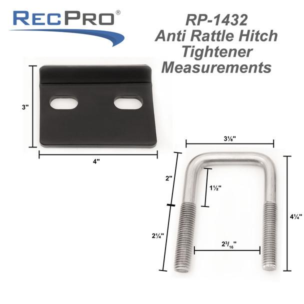 Anti Rattle Hitch Tightener