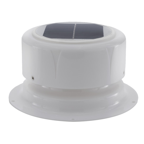 Solar Powered Ceiling Vent with Fan