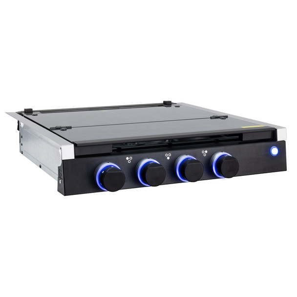 RV Three Burner Gas Cooktop with Cover