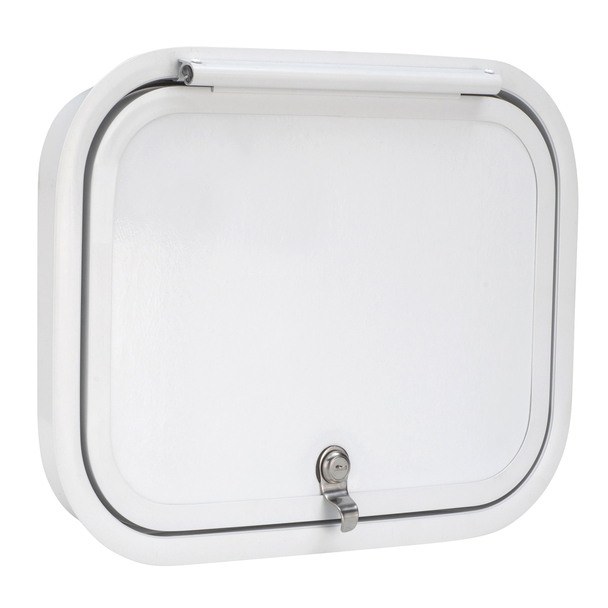 Rounded RV Baggage Door