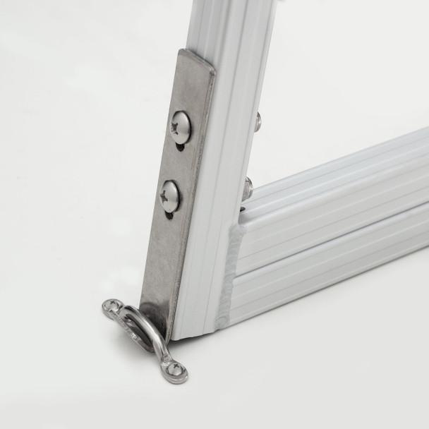 AL-A4 Aluminum Four Step Dock Ladder