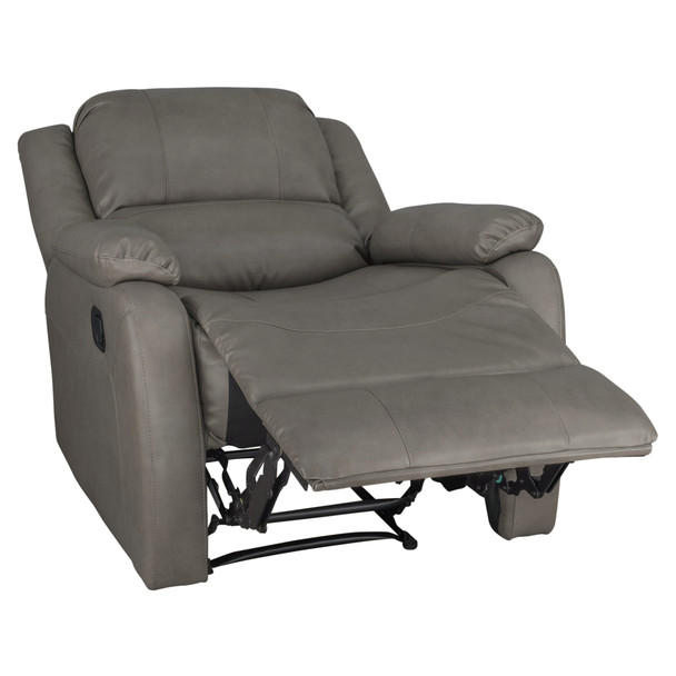 "RecPro Charles 30"" RV Wall Hugger Recliner RV Zero Wall Chair"