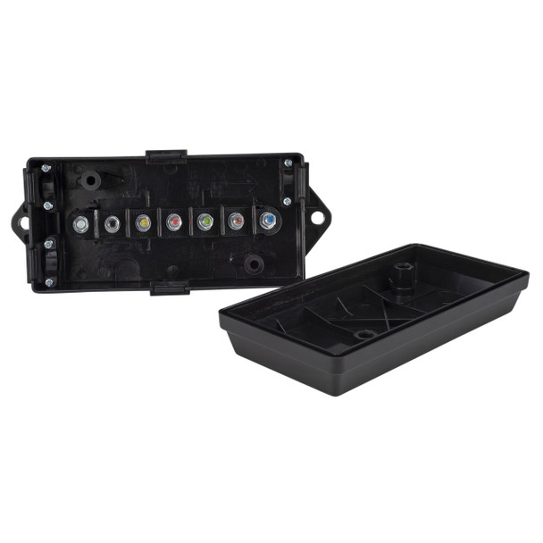 7 Way Trailer Wire Cord Junction Box