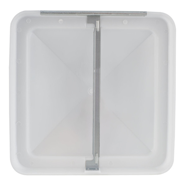 """14"""" x 14"""" Replacement RV Roof Vent Cover White"""