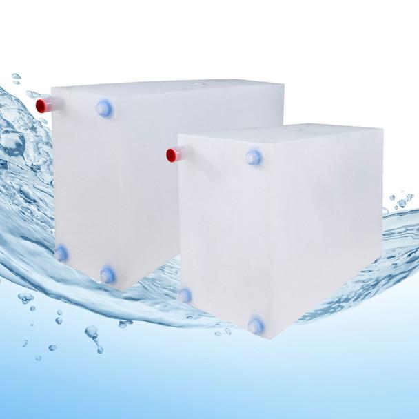 16 & 21 Gallon RV Water Tank Combo NSF Certified and BPA Free