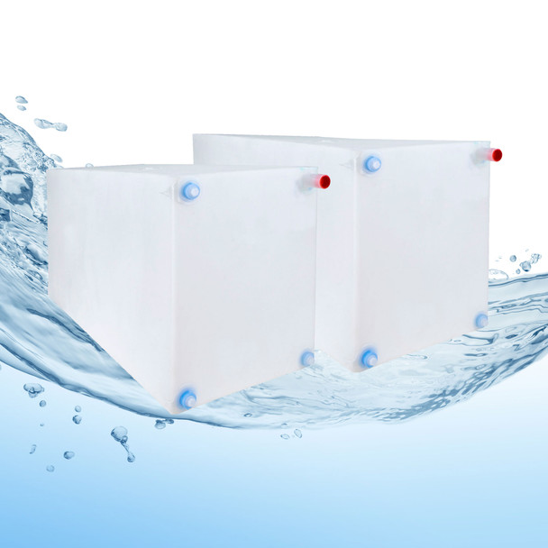 30 & 42 Gallon RV Water Tank Combo NSF Certified and BPA Free