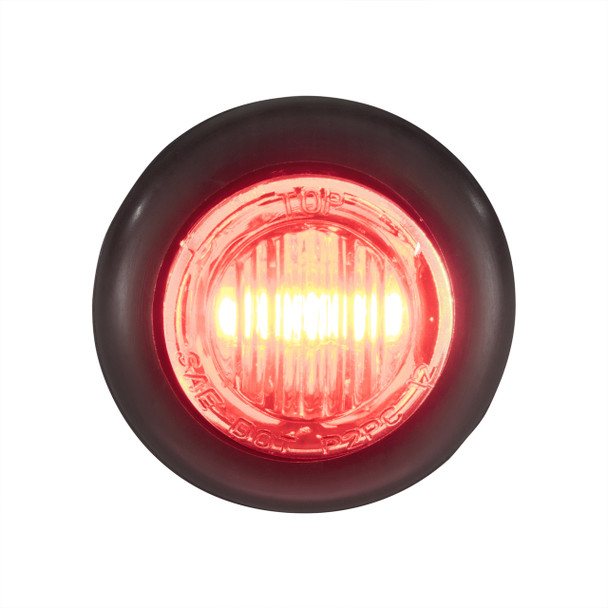 3 4 Quot Clear Red Led Clearance Marker Bullet Lights 5 10
