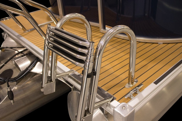 Marine Products 4 STEP 304SS UNIVERSAL REAR ENTRY LADDER