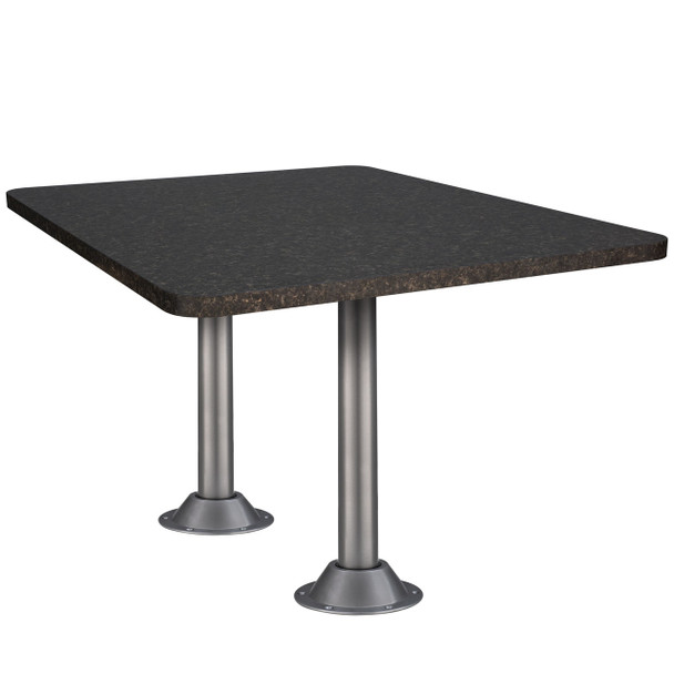 Granite table two legs