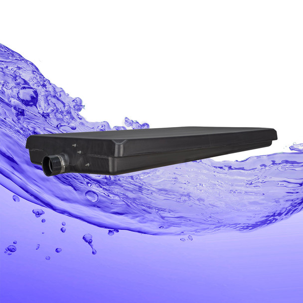 "45 Gallon Black Waste Water RV Holding Tank with Sensors 54"" x 32"" x 7"""