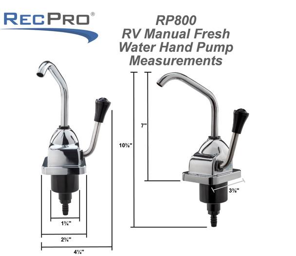 Manual Hand Pump RV Faucet