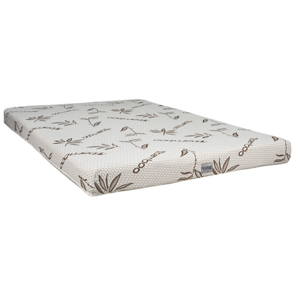"""8"""" Twin RV Mattress Gel Infused with Bamboo Ticking 39""""W x 75""""D"""