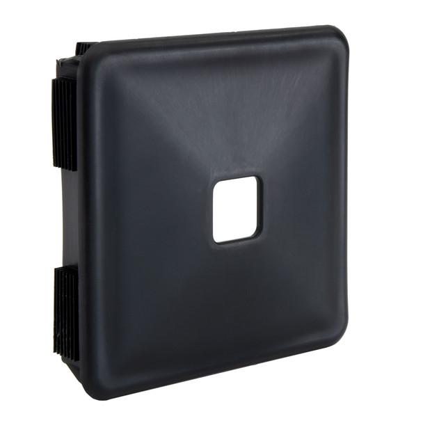 """4"""" RV Rubber Bumper Plug End Cap Cover 2 pack in Black"""