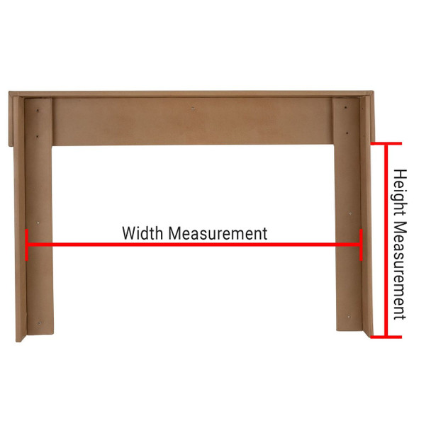 RV Window Valance with Legs Measuring Guide