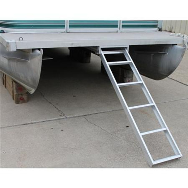 AL UDL5 Under Deck Pontoon Boat Ladder