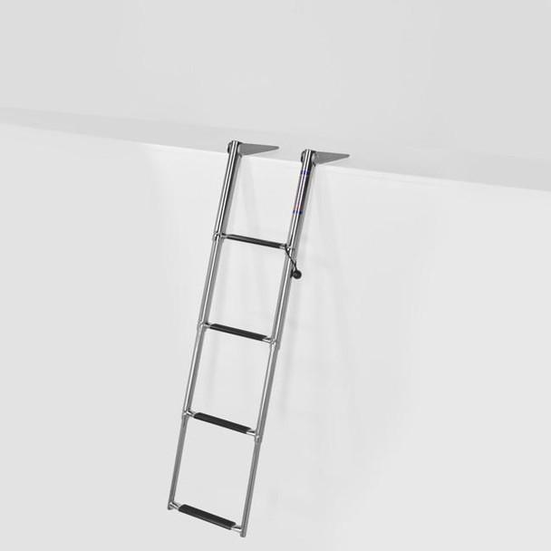 SSL-A4 Four Step Telescoping Boat Ladder for Swim Platforms