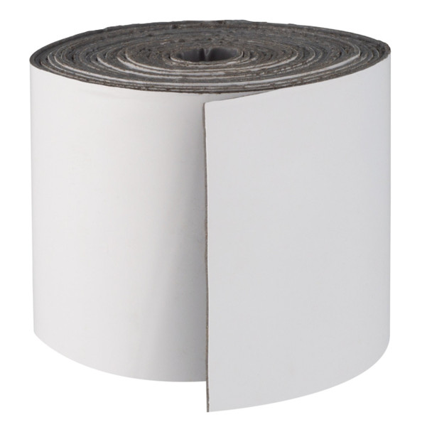 """Eternabond White RV Rubber Roof Seal 4"""" Wide Cut To Length"""