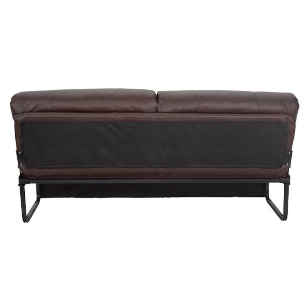 "RecPro Charles 62"" RV Jackknife Sleeper Sofa with Optional Legs"