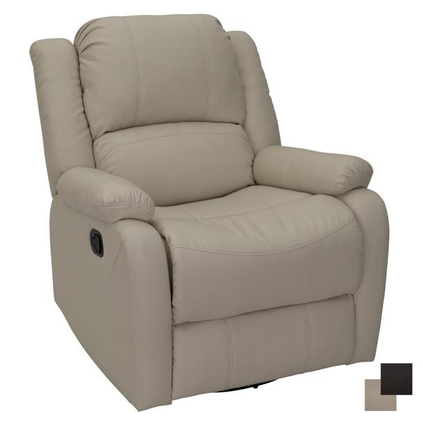 "RecPro Charles 30"" RV Wall Hugger Recliner RV Zero Wall Chair inUltrafabrics Brisa"
