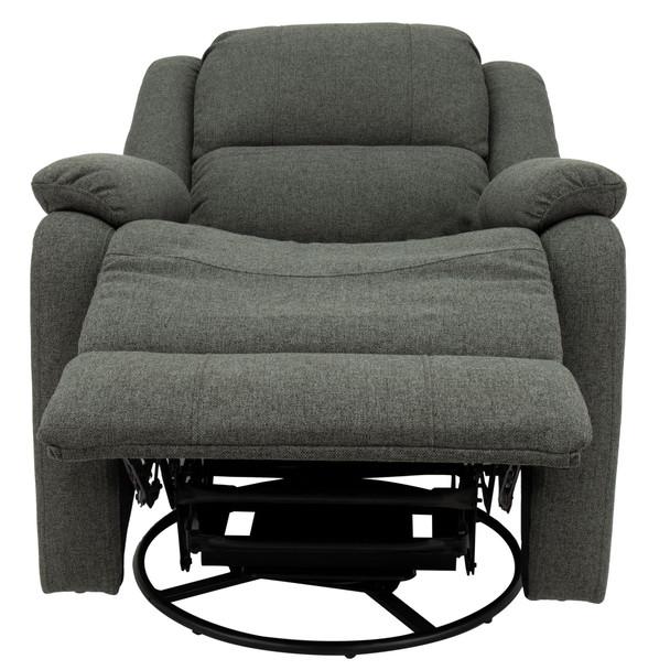 "RecPro Charles 30"" RV Recliner Swivel Glider Rocker Chair in Cloth"