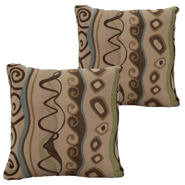 RecPro® RV Pillow Decorative Throw Pillow Beach