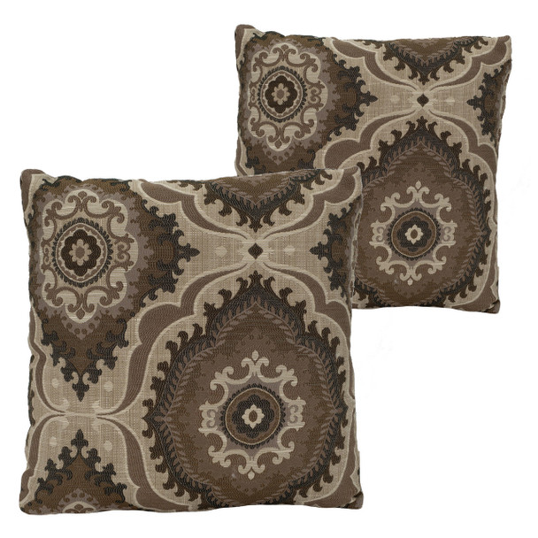 RecPro® RV Pillow Decorative Throw Pillow Medallion