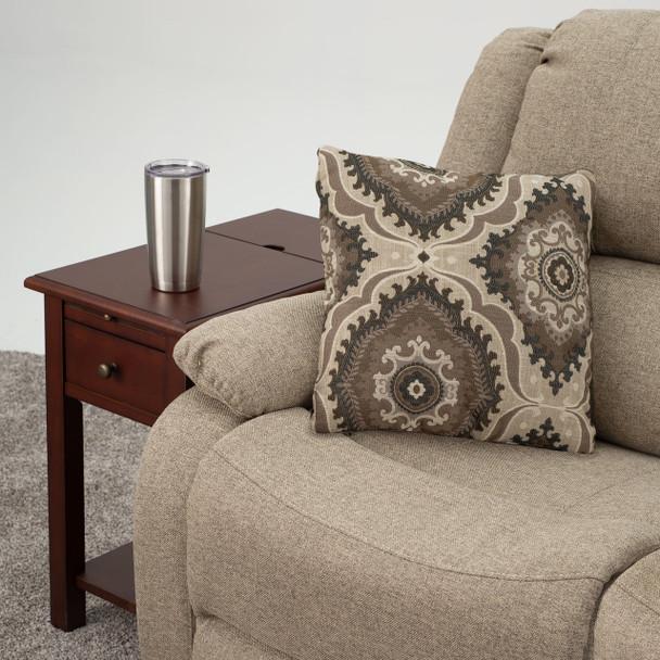RecPro® RV Pillow Decorative Throw Pillow Medallion