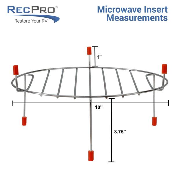 RV Convection Microwave Black 1.1 Cu. ft