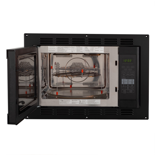 RV Convection Microwave Black 1.1 Cu. ft