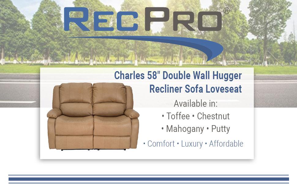 """58"""" Double Recliner"""