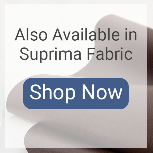Available in Suprima Fabrics