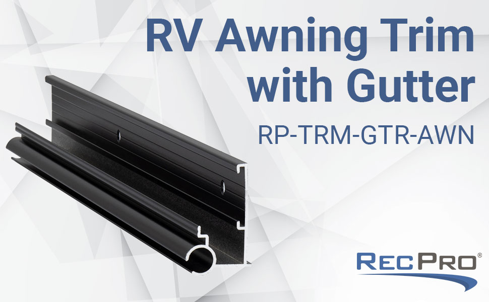 Awning Trim With Gutter