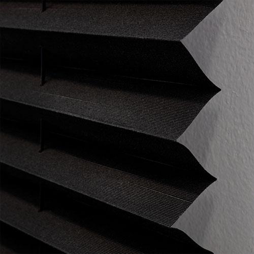 Black Pleated Shades