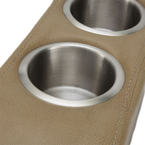2 Stainless Steel Cup Holders