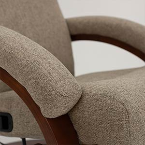 Euro Chair in Cloth Detail